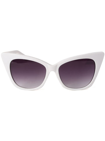 Jennifer Sunglasses - White
