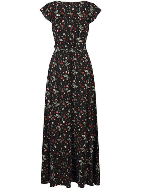Thelma Maxi - Pressed Flowers