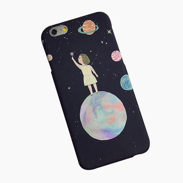 Worlds Apart iPhone Case