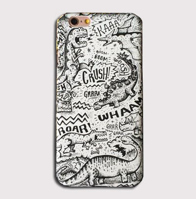 Dinosaur Phone Case For iPhones