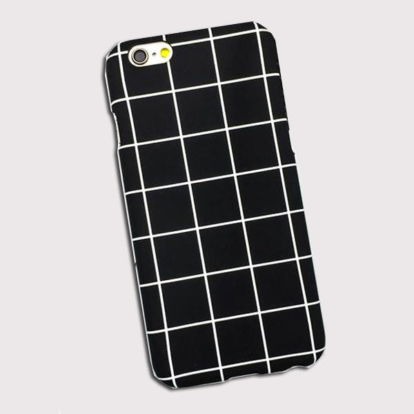 Black and White Squares Phone Case for Iphones