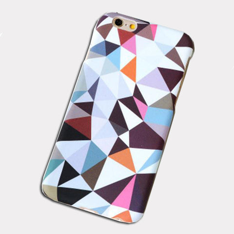Colorful Triangle Phone Case for Iphones