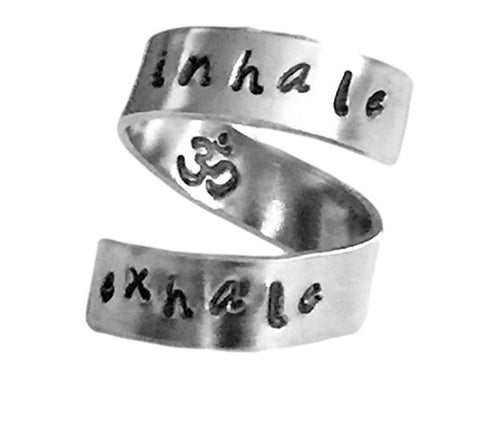 Adjustable Inhale Exhale Ring