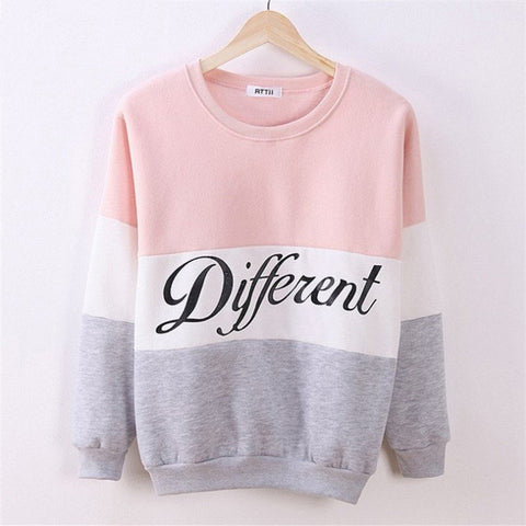 Be Different women's casual sweatshirt
