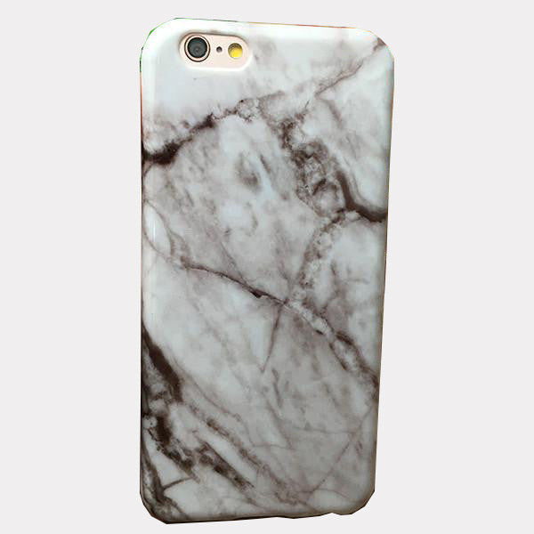 White Marble Phone Case For iPhones