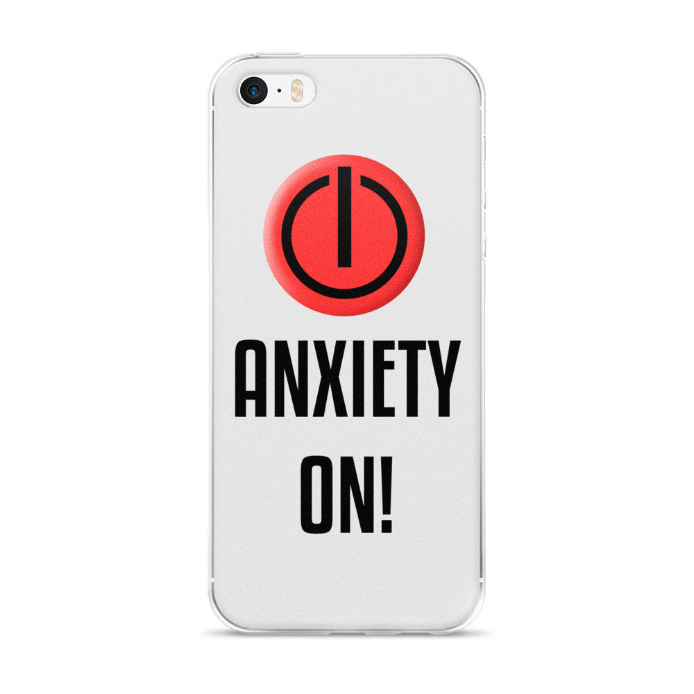 Anxiety On iPhone Case
