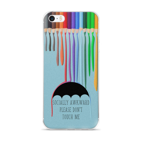 Socially Awkward iPhone Case