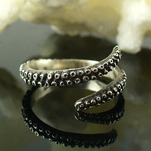 Octopus Tentacle Adjustable Ring