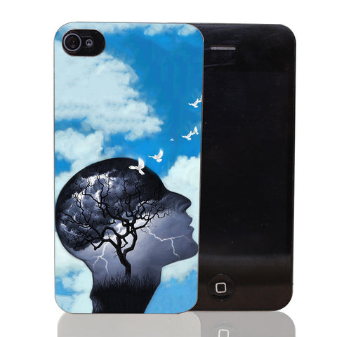 Mental Health roaring thoughts Iphone Case