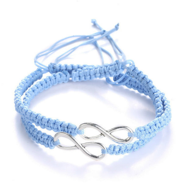 Infinity Love Friendship and Couple Bracelets