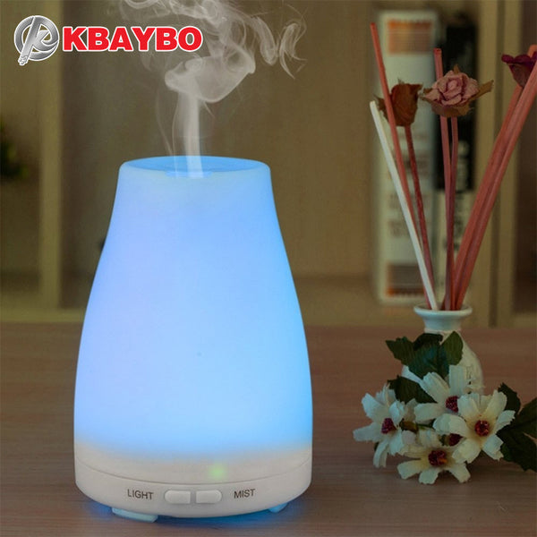LED Ultrasonic Humidifier Aromatherapy Oil Diffuser