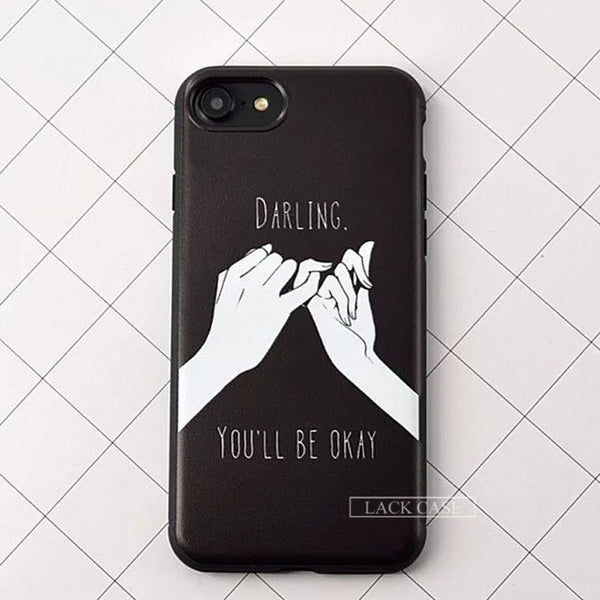 Finger Promise iPhone Cases