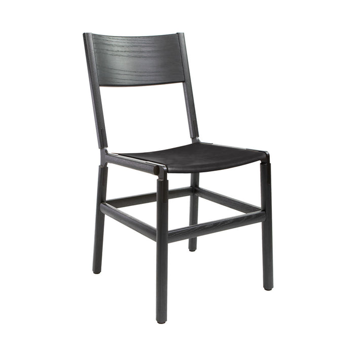 Mariposa - Charcoal Black, Black, SN Leather, Seat Only, Coal
