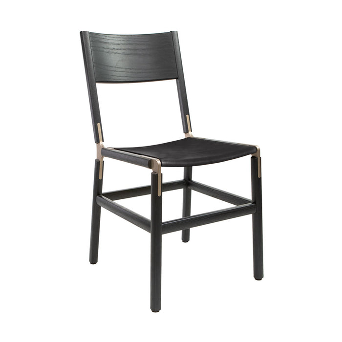 Mariposa - Charcoal Black, Copper Bronze, PVT Leather, Seat Only, Coal