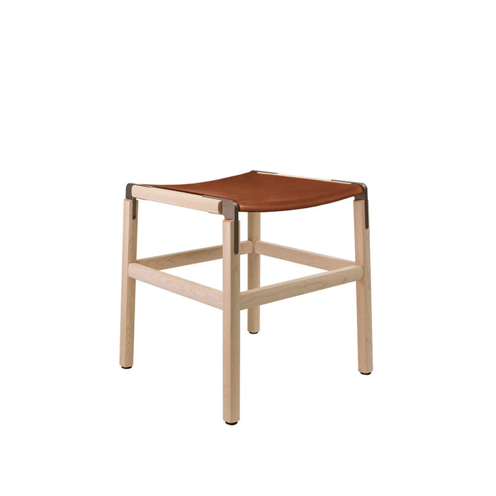 Shorty - Maple, Copper Bronze, PVT Leather, Seat Only, Rust