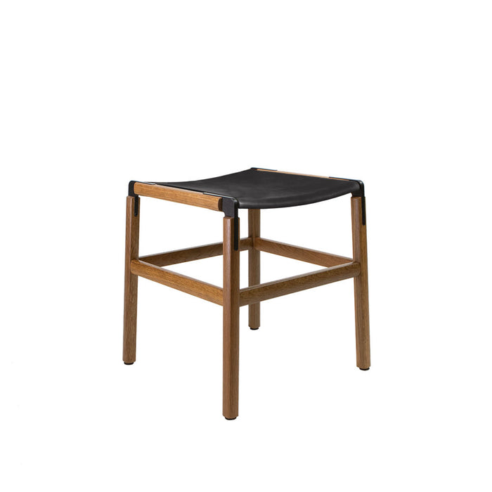 Shorty - Oxidized Oak, Black, SN Leather, Seat Only, Coal