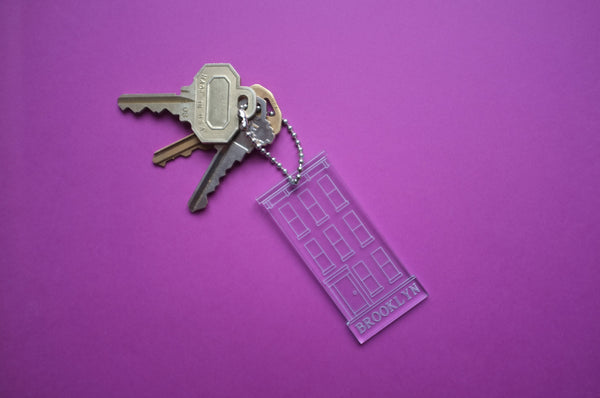 Brooklyn Townhouse Keychain