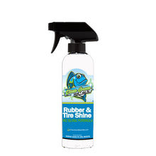 Fresh Rubber Tire Shine & Cleaner With UV Protection 16 oz