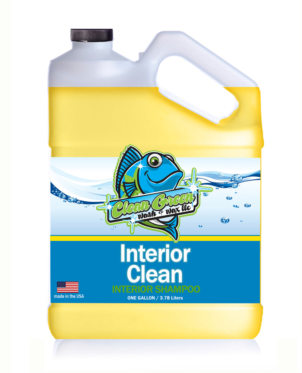 Clean Green Wash & Wax Interior Clean 1 Gallon Concentrate 300:1