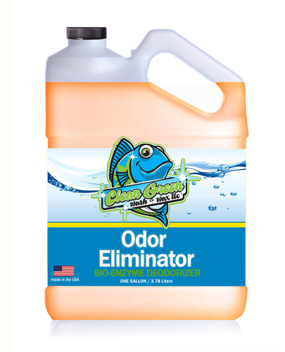 Clean Green Wash & Wax Odor Eliminator 1 Gallon