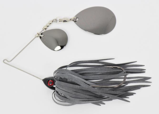 Double Colorado Spinnerbaits (Colored blades)