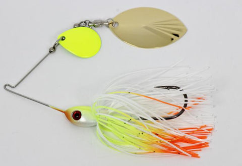 Colorado Fluted Turtleback Spinnerbaits