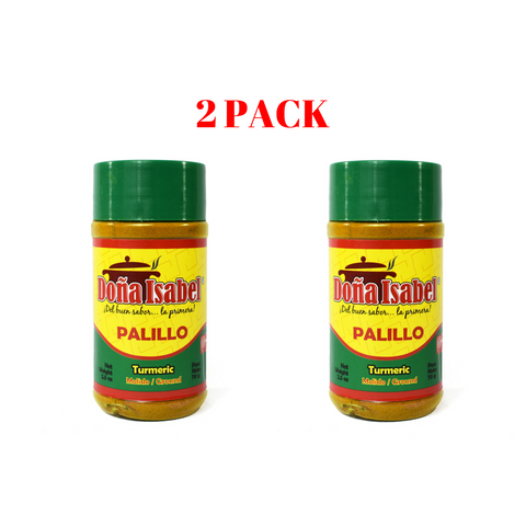 Dona Isabel Palillo - Turmeric Ground Powder - 2.5 oz. - 2 Pack
