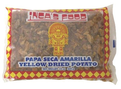 Inca's Food Yellow Dried Potato - Papa Seca Amarilla 15 oz.