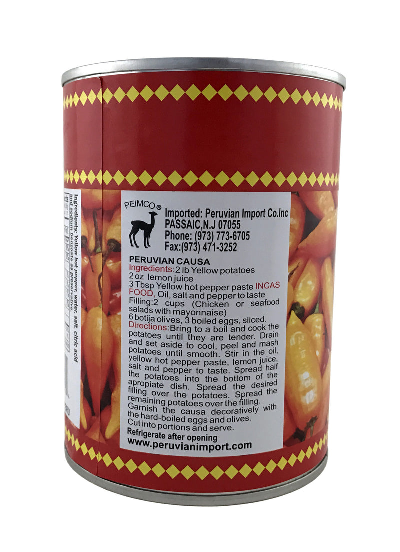 Inca's Food Aji Amarillo en Lata 20 oz.