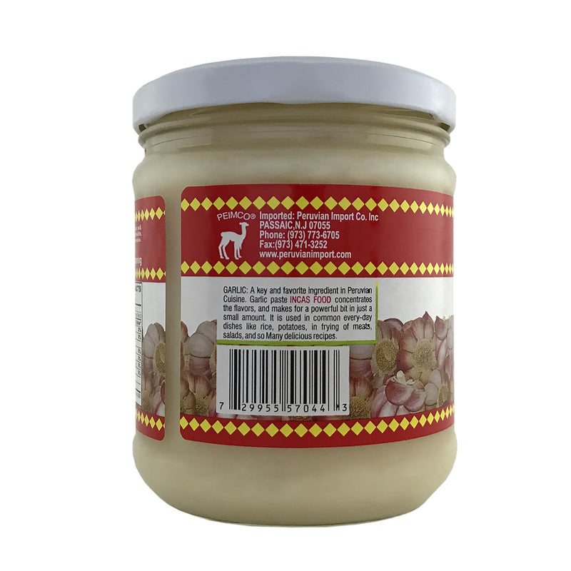 Inca's Food Garlic 15.7 oz.