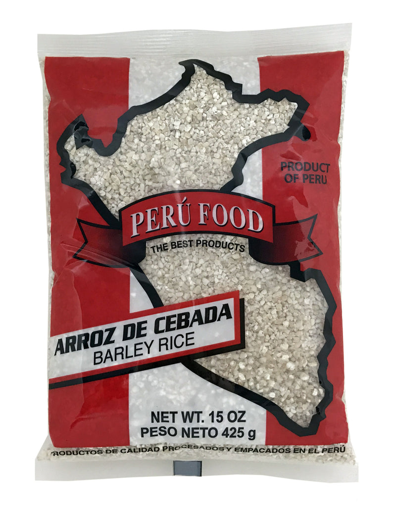 Peru Food Arroz de Cebada 15 oz.