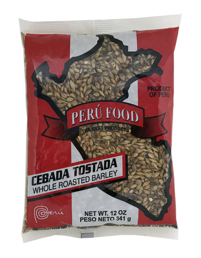 Peru Food Whole Roasted Barley - Cebada Tostada 12 oz.