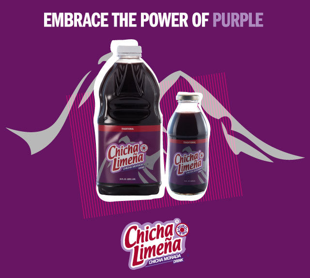Chicha Limena Traditional Chicha Morada Drink 64 Fl oz. 8 PACK