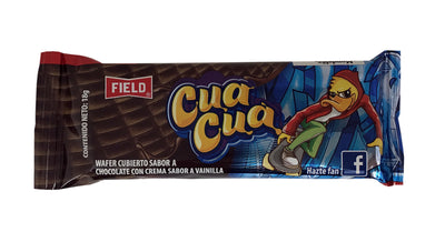 Field Cua Cua Wafer Covered Chocolate Flavor 540 gr.