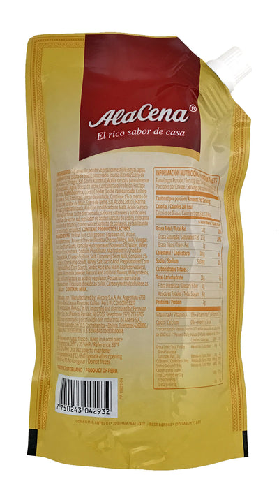 Alacena Chili And Cheese Cream Huancaina  400 Gr.