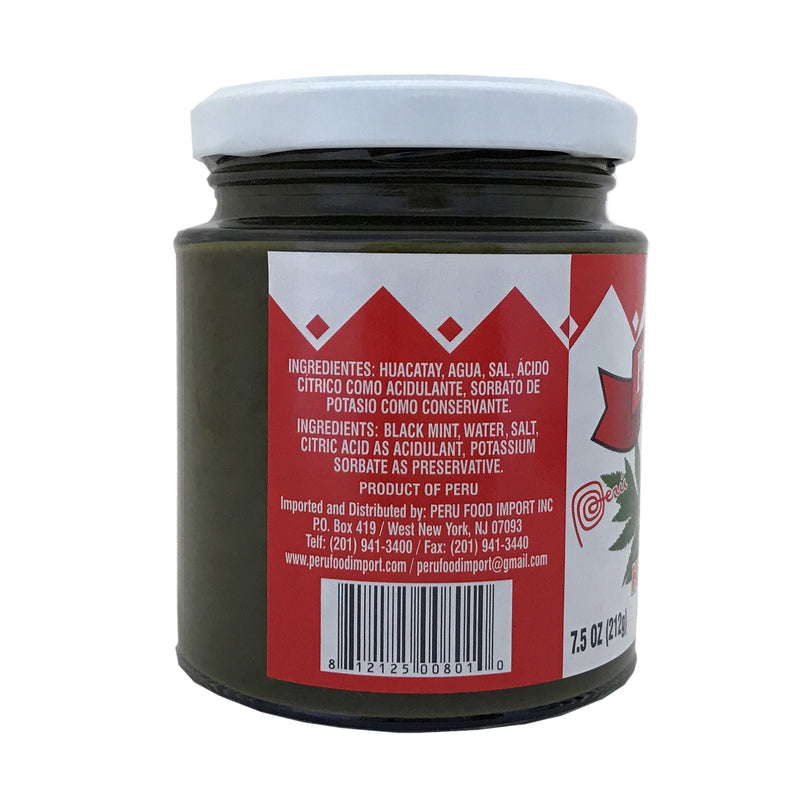 Peru Food Huacatay Black Mint 7.5 oz.