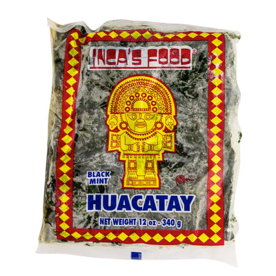 Inca's Food Huacatay - Frozen Black Mint 12 oz.