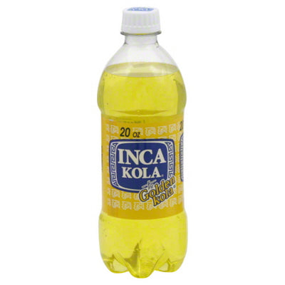 Inca Kola Soda Bottle 20 Oz. (Pack of 12)
