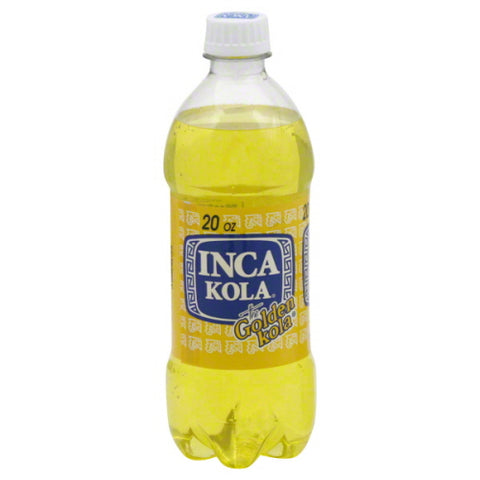 Inca Kola Bottle 20 Oz. (Pack of 12)