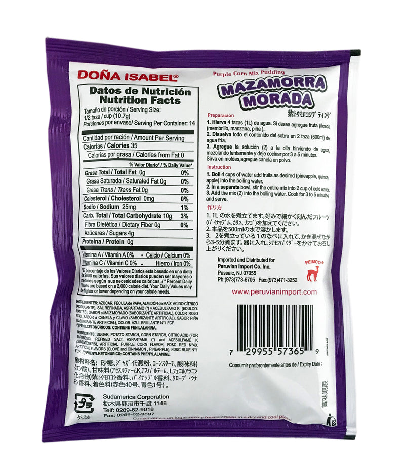 Dona Isabel Mazamorra Morada Mix - 5.3 oz.