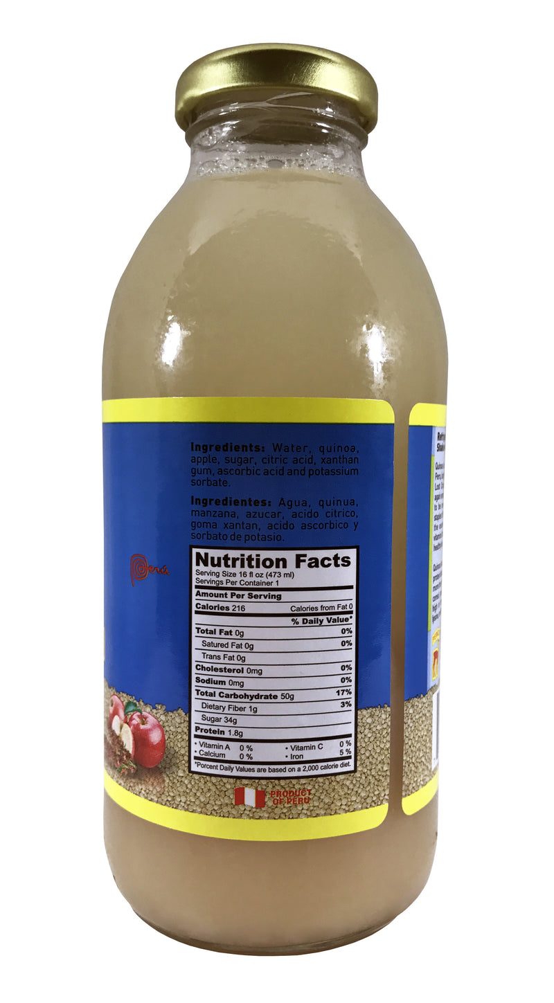 Inca's Food Quinoa/Apple Drink 16 Fl. oz.