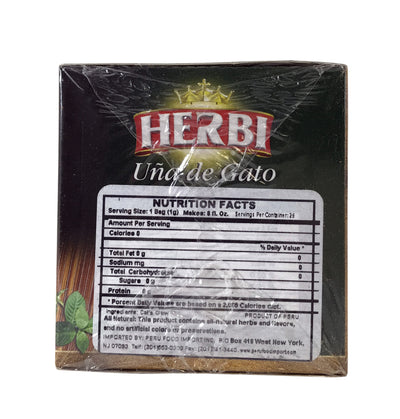 Herbi Cat's Claw Tea 37.5 gr. - 3 Pack