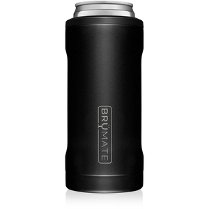 BRUMATE HOPSULATOR SLIM CAN-COOLER |  MATTE BLACK
