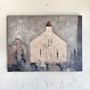 Church Canvas Wall Art