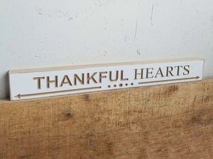 Harvest Tabletop Sign