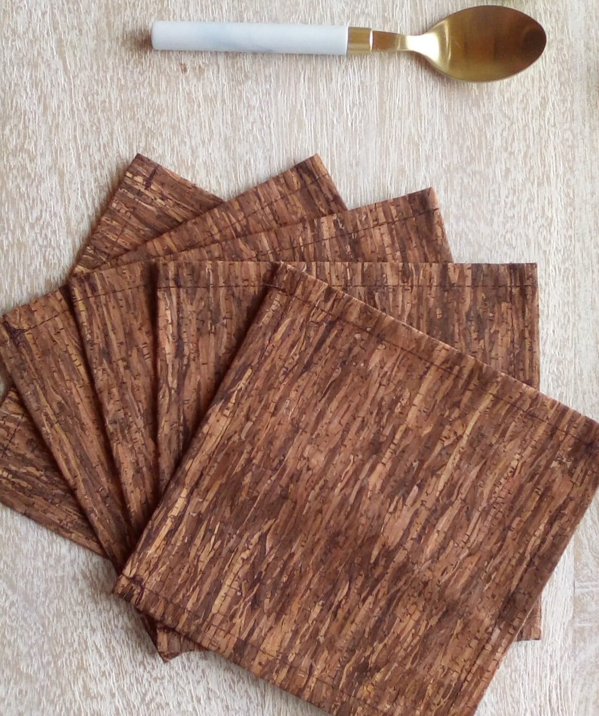 Large Cork Drink Coasters