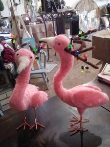 small flamingo reindeer
