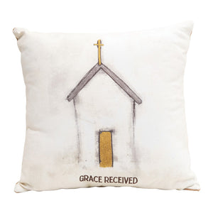 Grace Received Pillow
