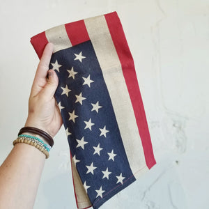 American Flag Dish Towels