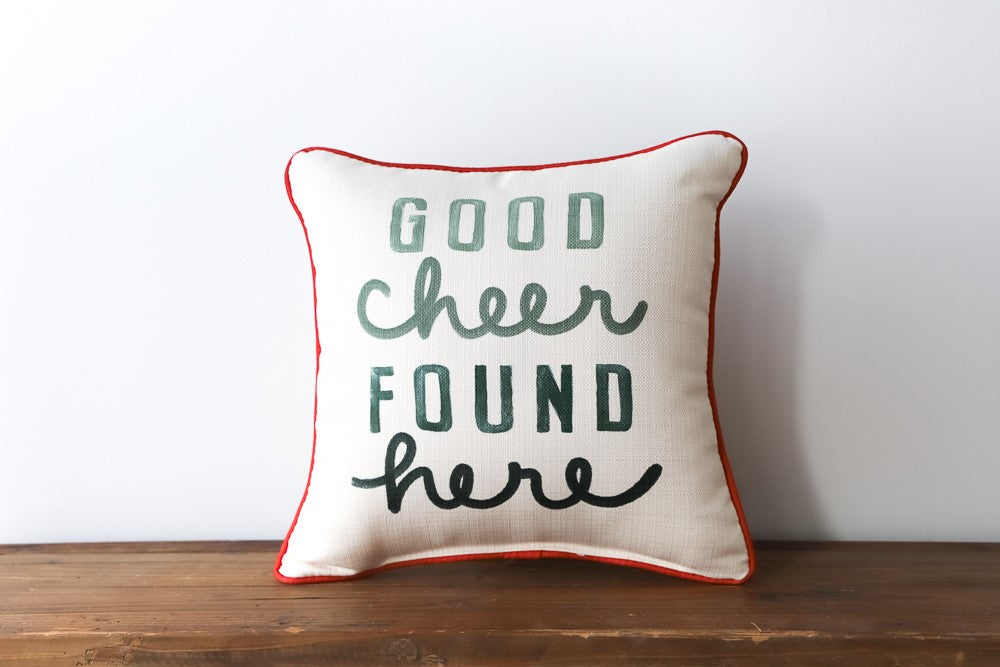 Good Cheer Pillow
